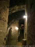 ブダ王宮の地下