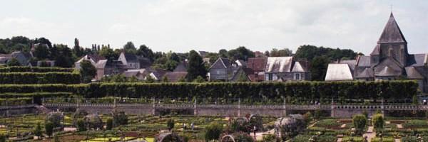 ヴィランドリー城庭園