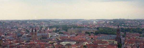 ヴュルツブルク市街